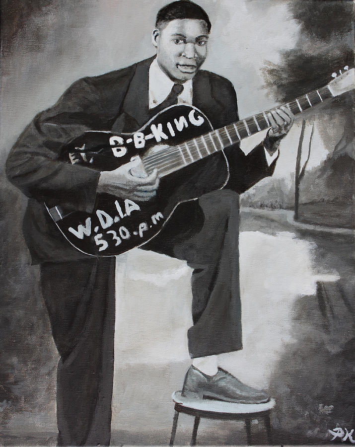 Bb King Painting - Beale Street Blues Boy by Patrick Kelly