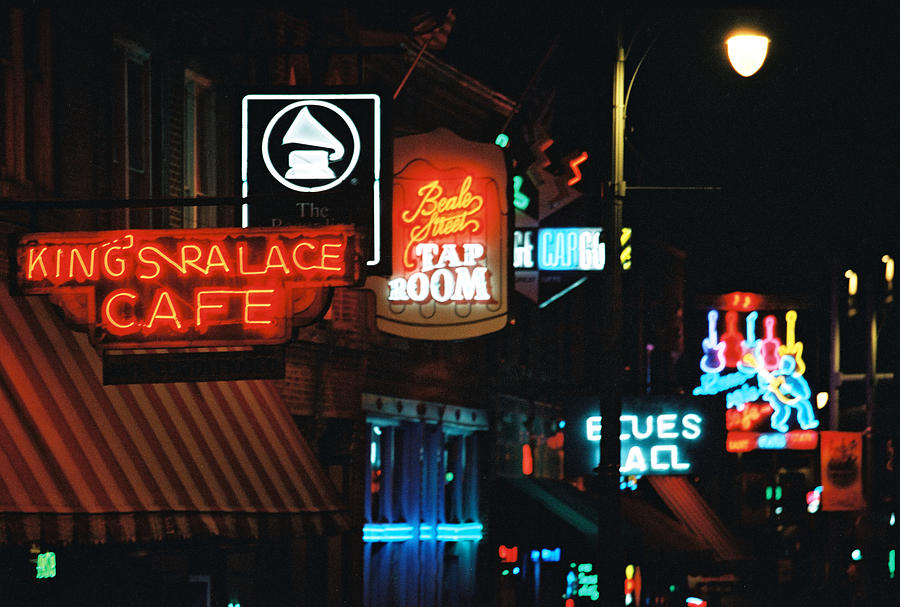 Memphis Photograph - Beale Street by Keith May