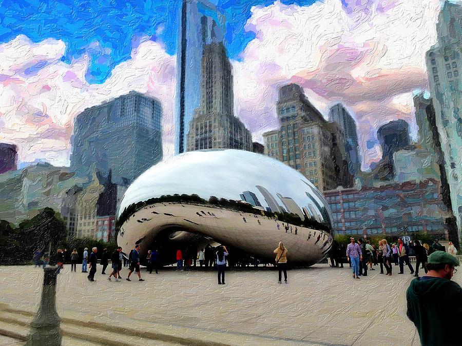 Bean Digital Art - Bean There by Cary Shapiro