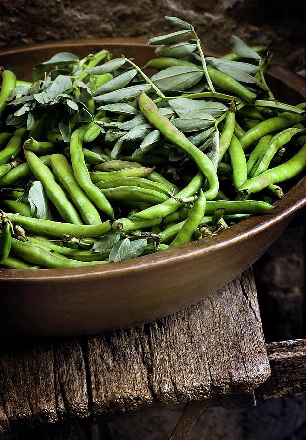 Beans Photograph by Bruno Ehrs