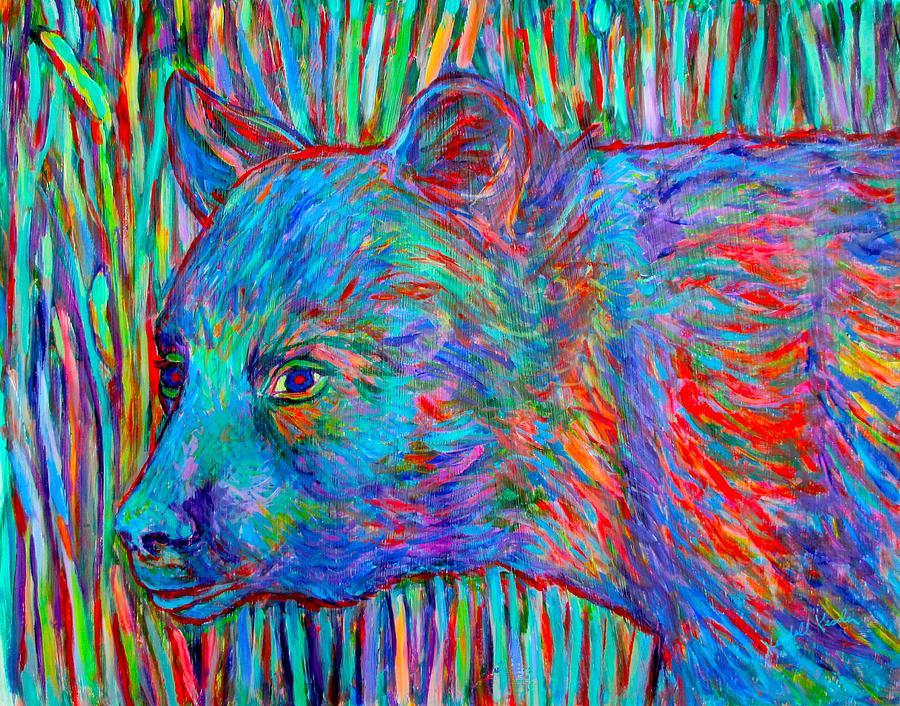Bear Painting - Bear Beauty by Kendall Kessler