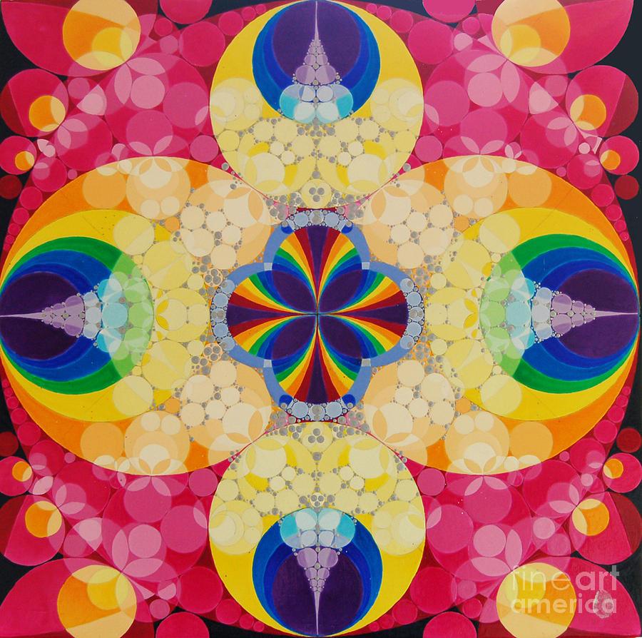 Rainbow Painting - Beatific by Nofirstname Aurora