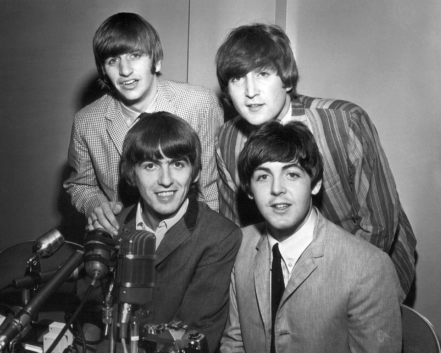 Beatles Photograph - Beatle Interview by Retro Images Archive