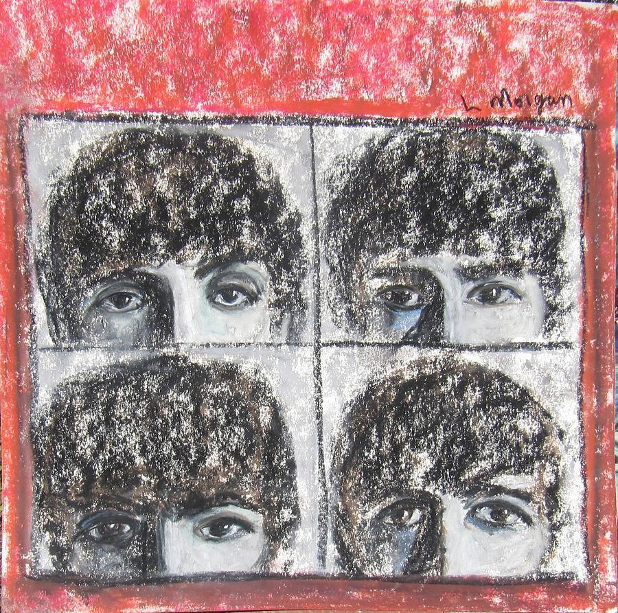 Beatles Painting - Beatles Hard Days Night by Laurie Morgan