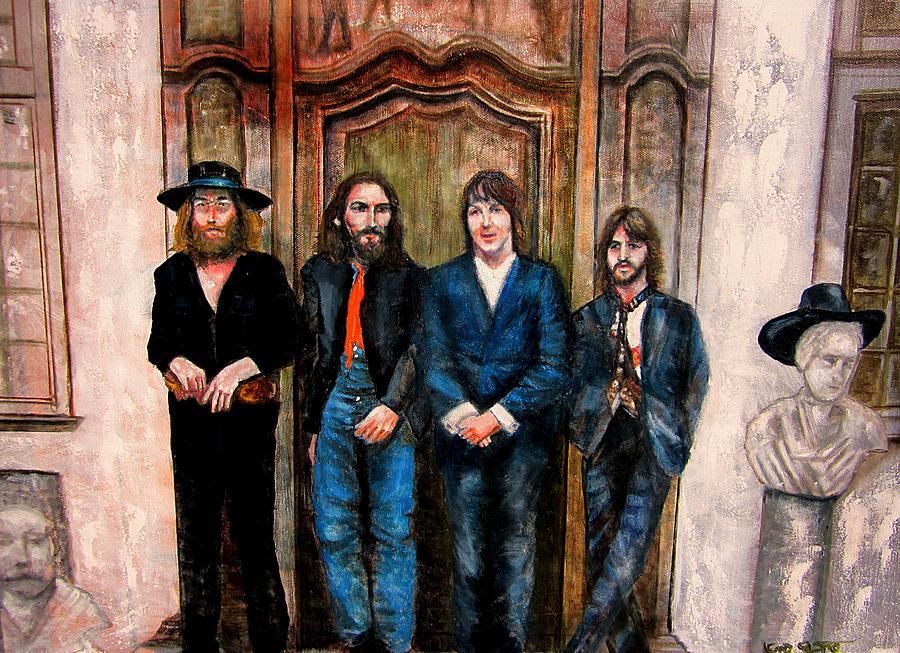 Hey Jude Painting - Beatles Hey Jude by Leland Castro