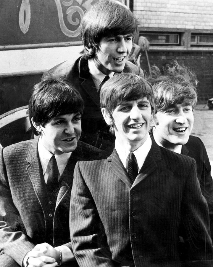 Beatles Photograph - Beatles by Retro Images Archive