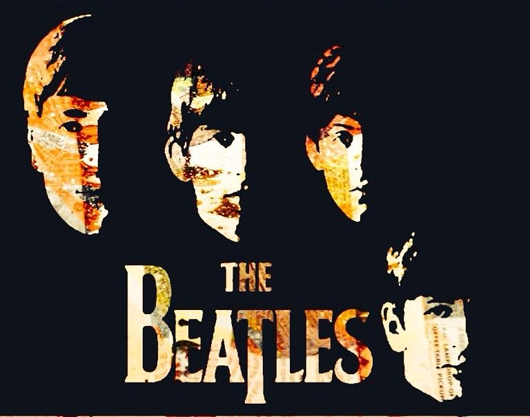 Beatles Digital Art - Beatles by Trisha Buchanan
