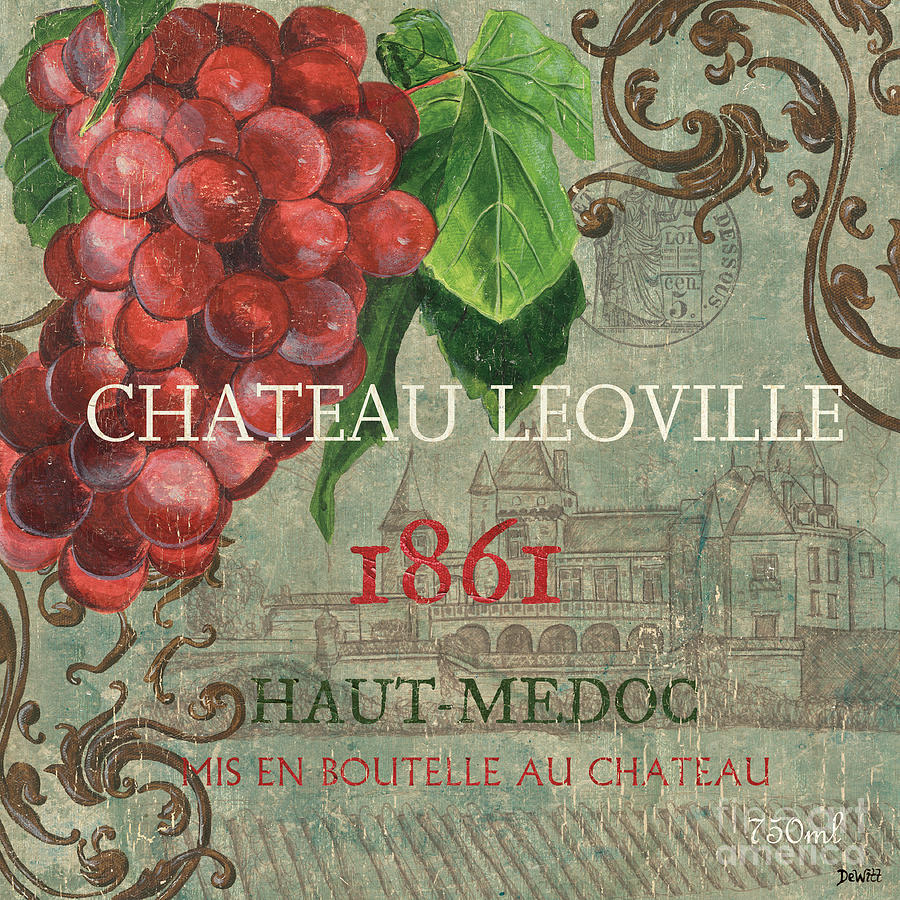 Wine Painting - Beaujolais Nouveau 1 by Debbie DeWitt