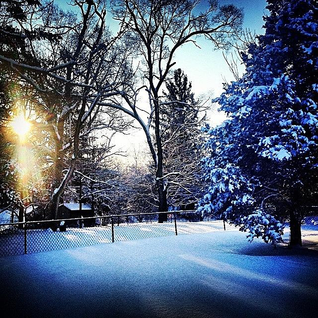 Winter Photograph - Beautiful After The Storm by Frank J Casella