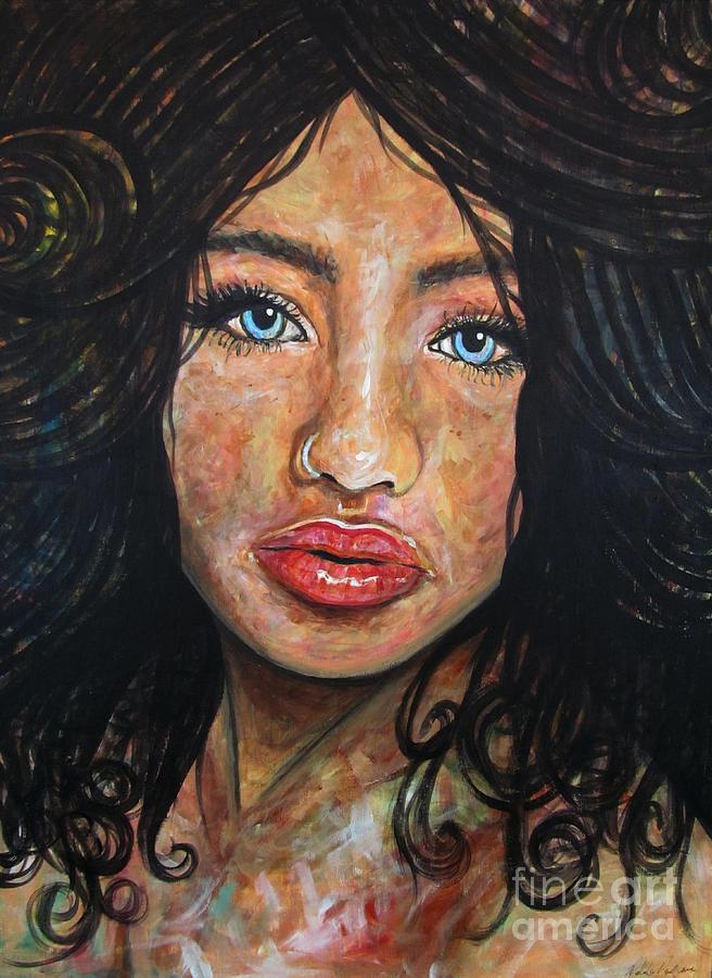 Art Print Painting - Beautiful Ambiguity by Malinda  Prudhomme
