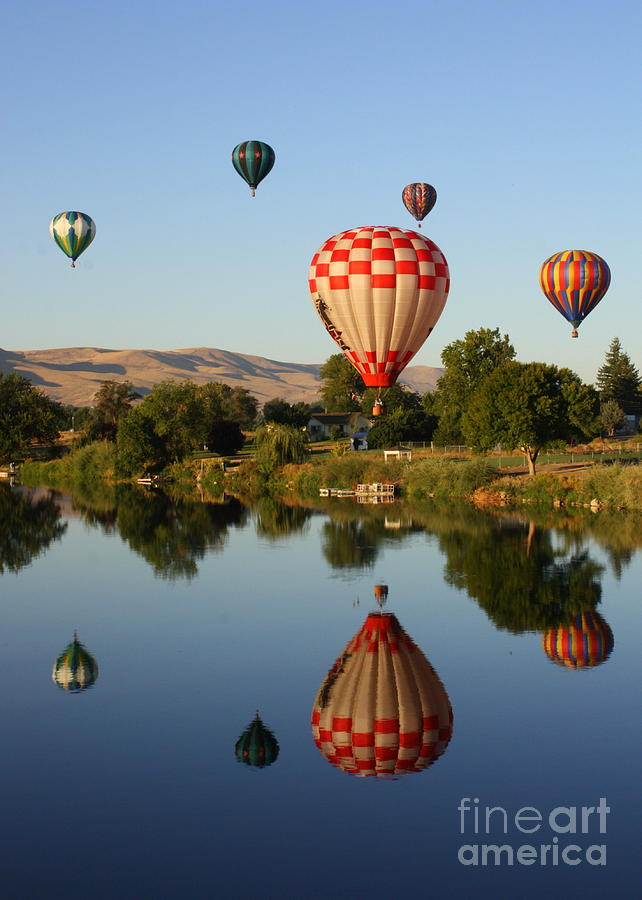 Balloon Photograph - Beautiful Balloon Day by Carol Groenen