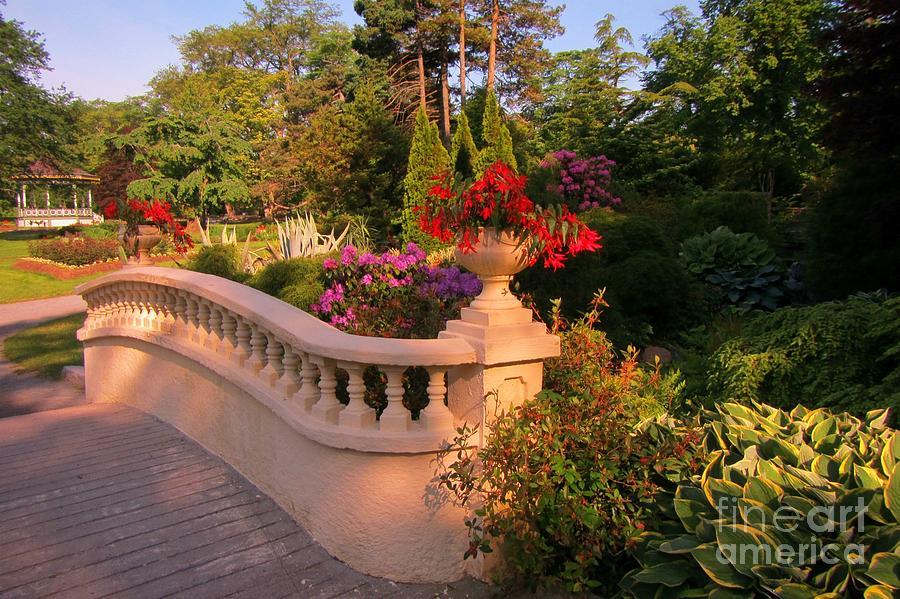 Superbe Beautiful Balustrade Fence In Halifax Public Gardens