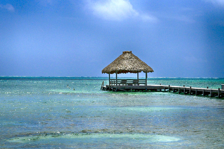 Tropical Island Photograph - Beautiful Belize by Kristina Deane