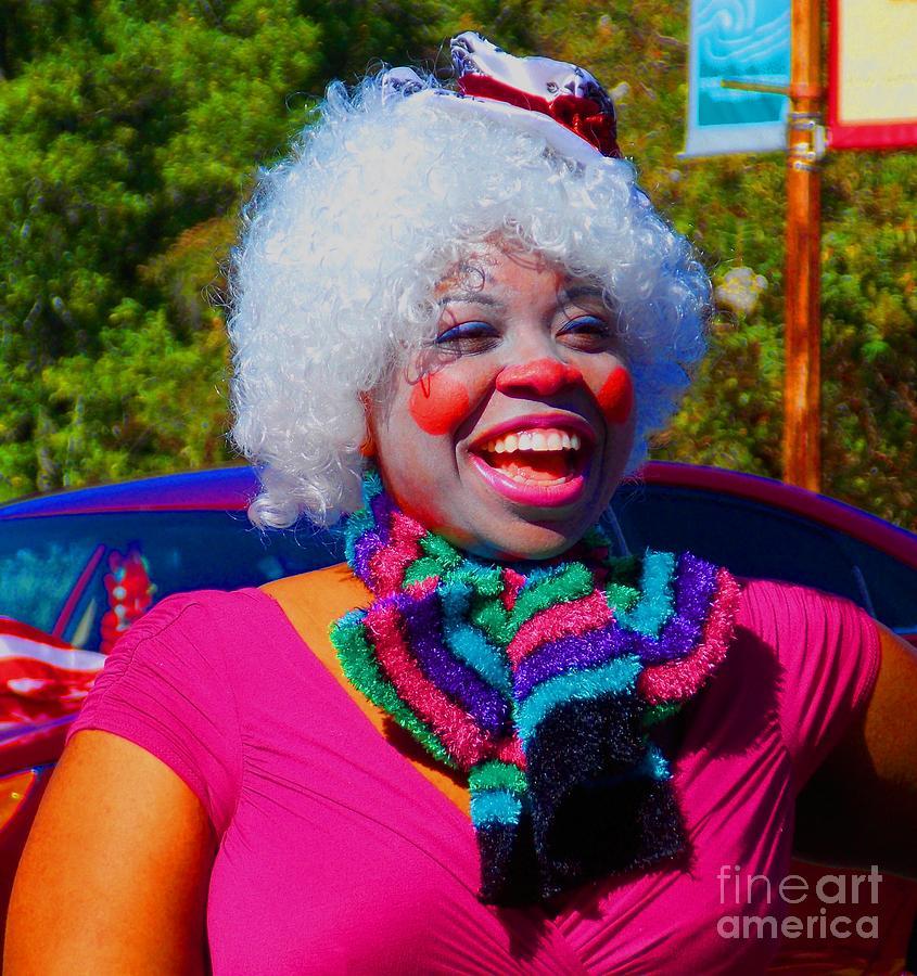 Clown Photograph - Beautiful Clown by Annette Allman