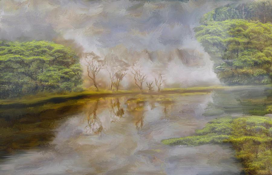 Beautiful Costa Rica Rain Forest Painting