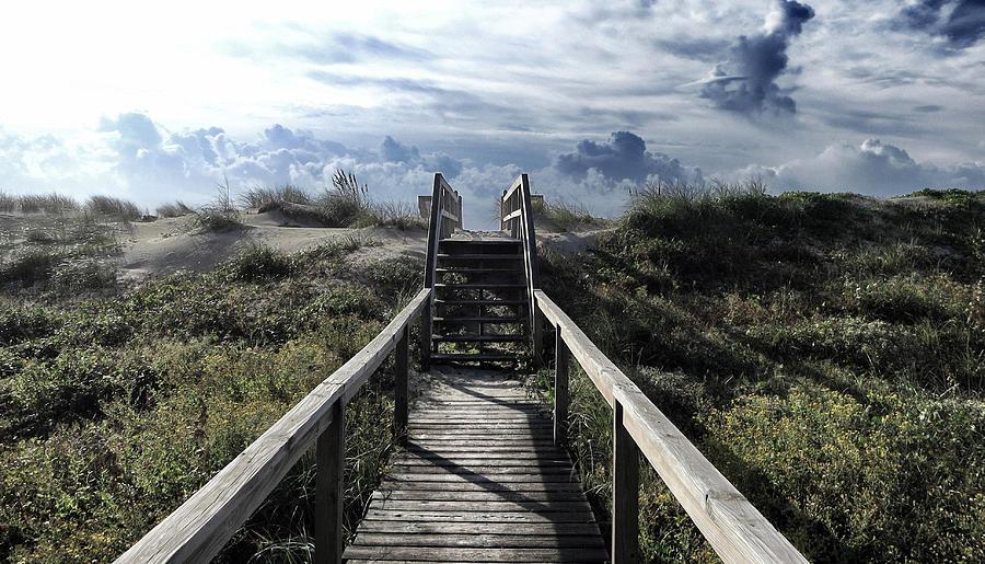 North Carolina Photograph - Beautiful Day At Cape Hatteras by Patricia Januszkiewicz
