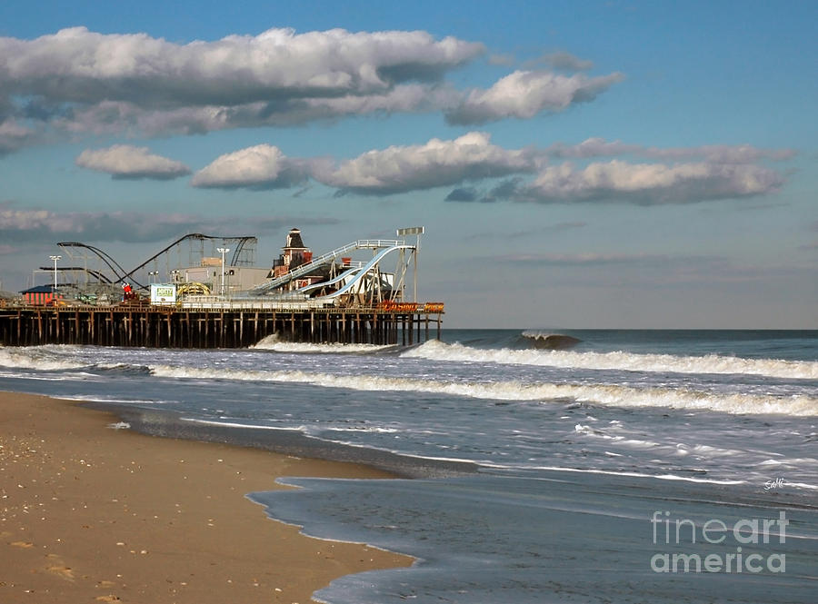 Landscape Photograph - Beautiful Day At The Beach by Sami Martin
