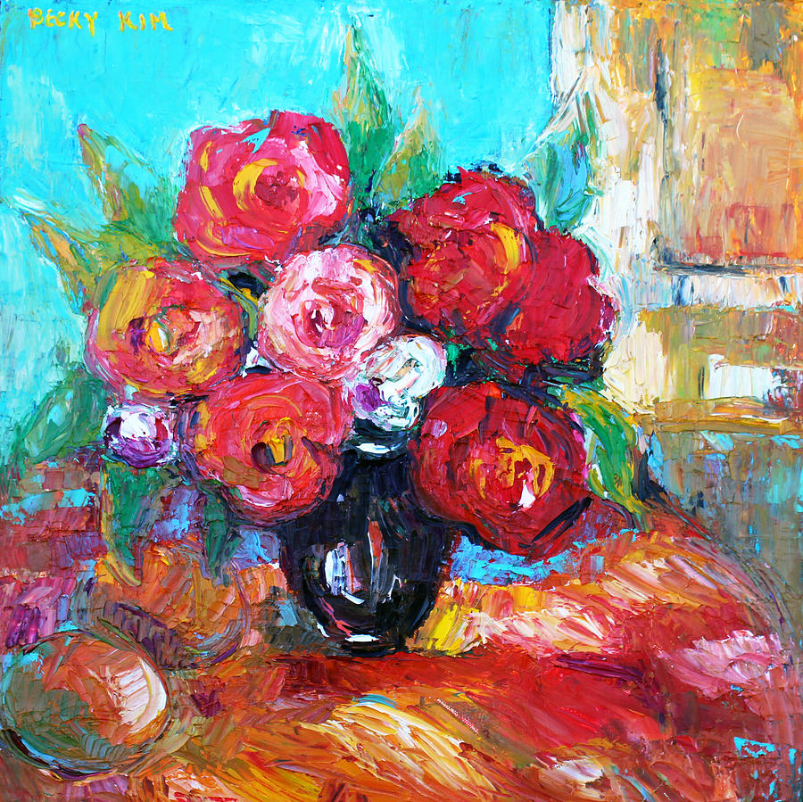Still Life Painting - Beautiful Day by Becky Kim
