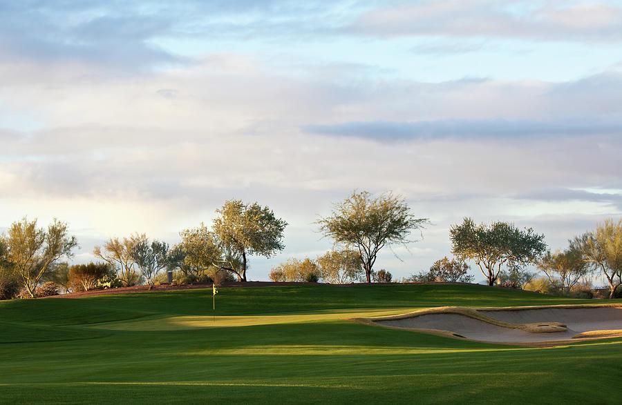 Beautiful Desert Golf Course Photograph by Imaginegolf