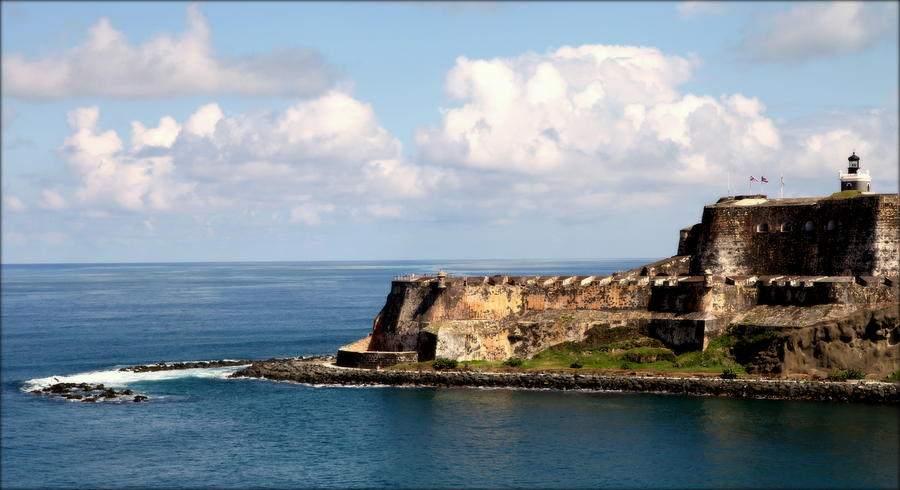 Puerto Rico Photograph - Beautiful El Morro by Karen Wiles