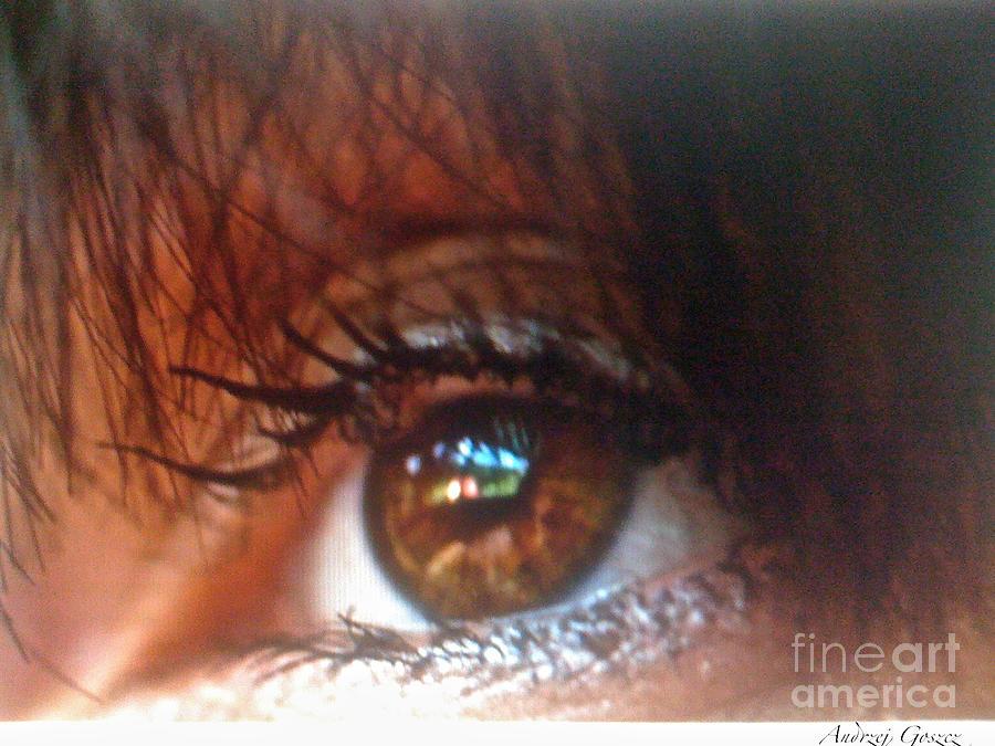 Beauty Photography Photograph - Beautiful Eyes   by  Andrzej Goszcz
