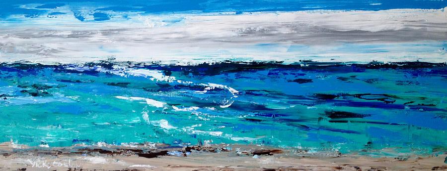 Ocean Painting - Beautiful Hawaii by Vicki Conlon