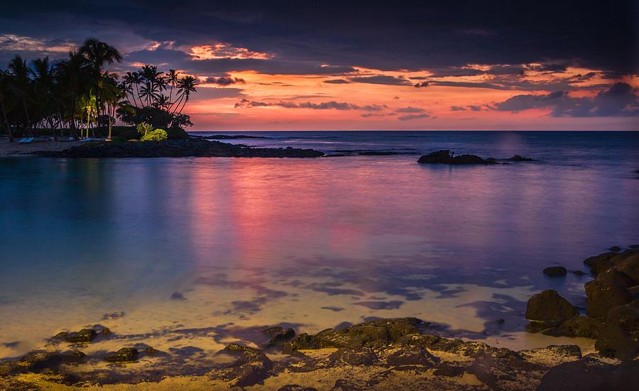 Beautiful Hawaiian Sunset by Ami Parikh