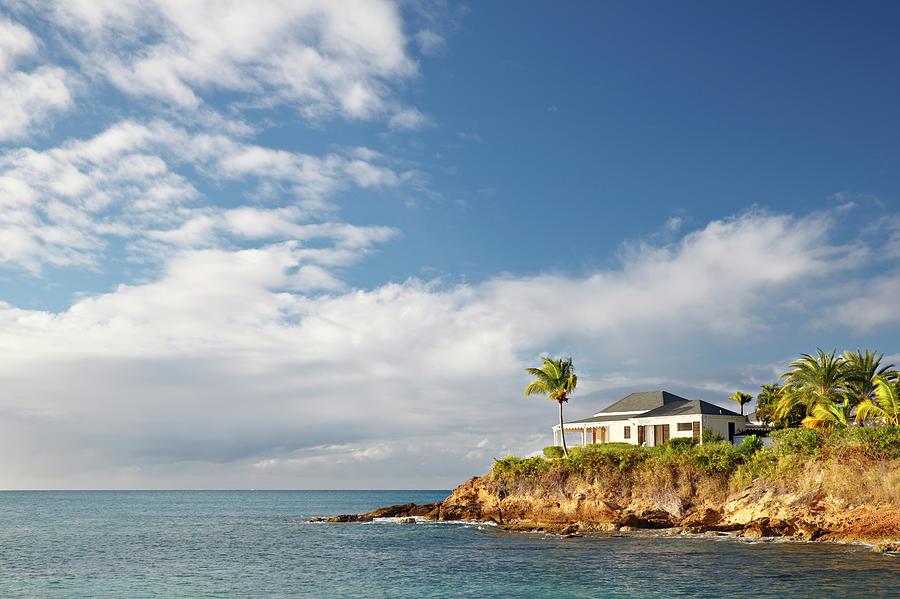Beautiful Holiday Villa In Antigua Photograph by Michaelutech
