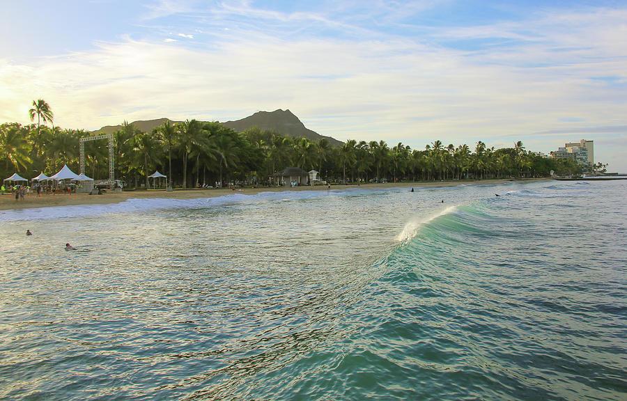 Beautiful Kuhio Beach Photograph by Daniela Duncan