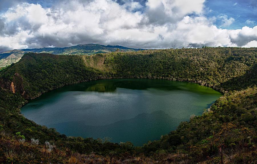 Lake Photograph - Beautiful Lake Guatavita by Jess Kraft