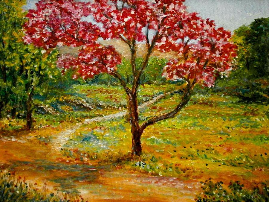Beautiful Park Painting