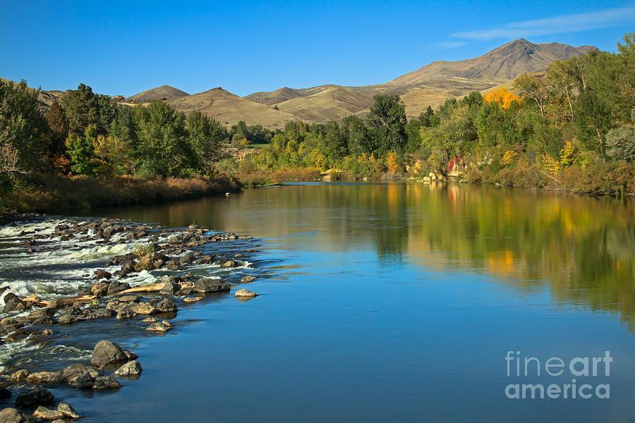 Idaho Photograph - Beautiful Payette River by Robert Bales