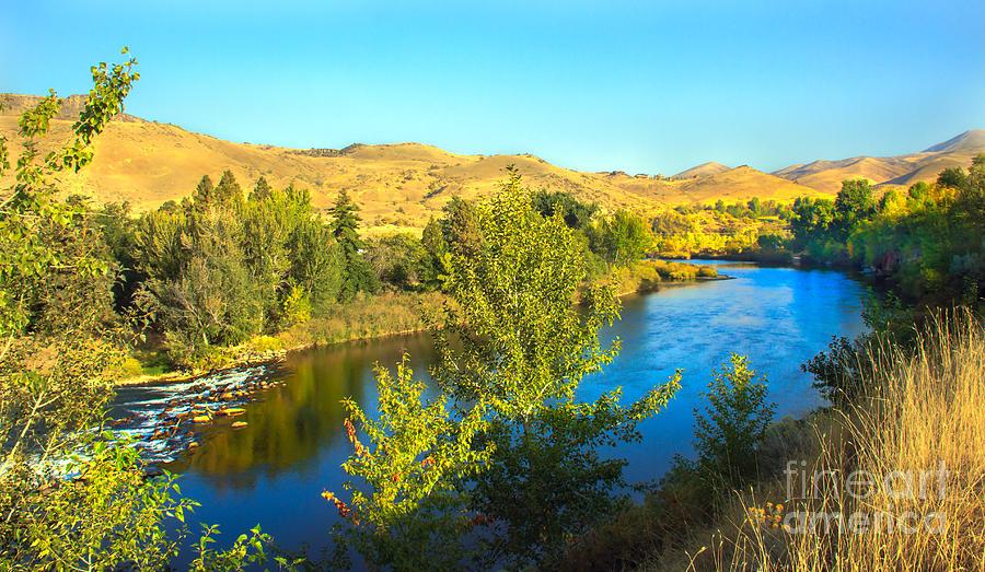 Idaho Photograph - Beautiful Payette by Robert Bales