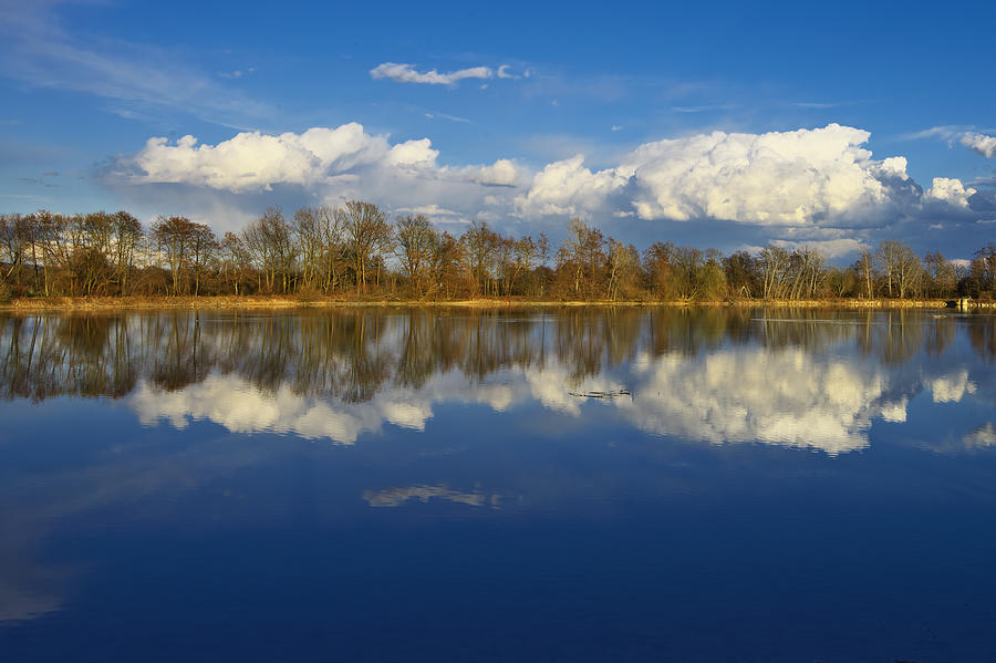 Cloud Photograph - Beautiful Reflection by Ivan Slosar