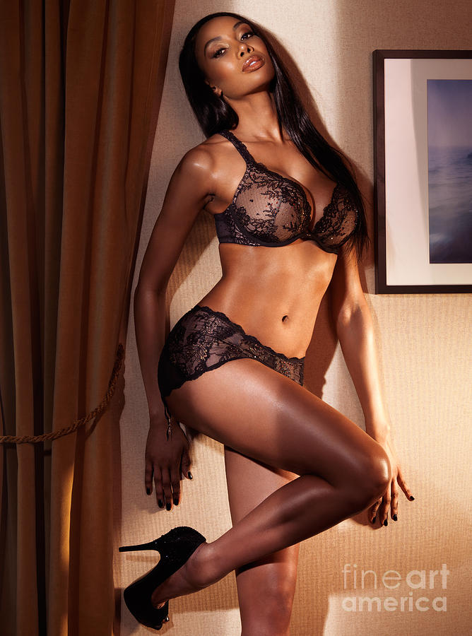 Sexy lingerie for black woman