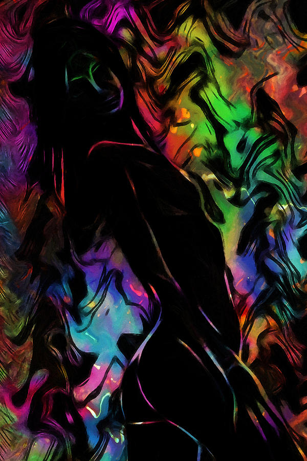 Beautiful Shadow Painting by Steve K