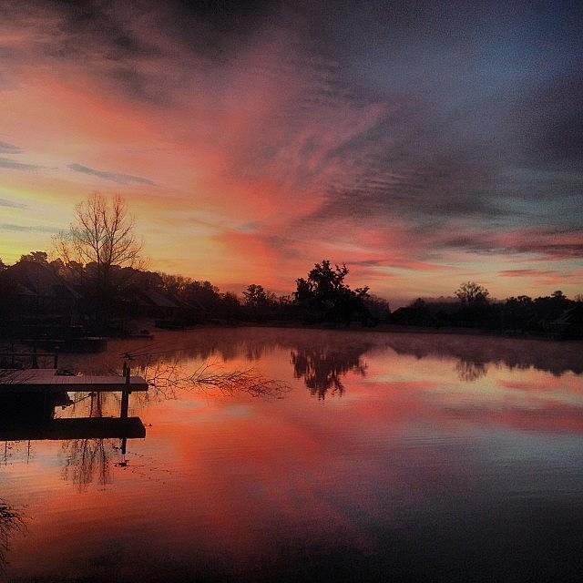 Beauty Photograph - Beautiful Sunrise #jj_louisiana by Scott Pellegrin