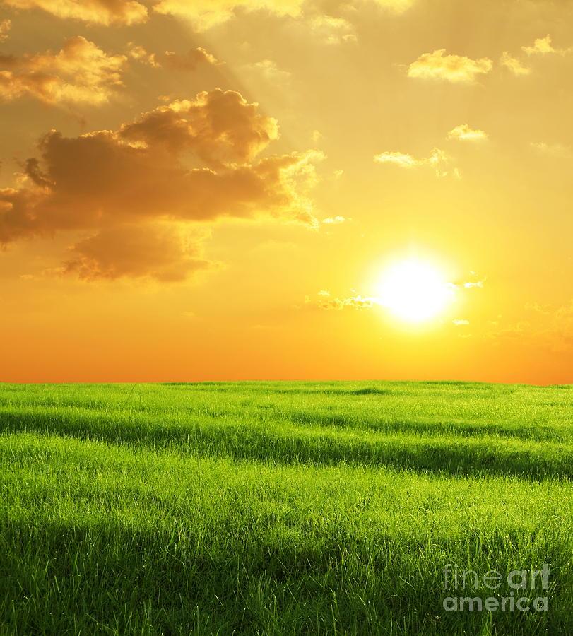 Beautiful Sunset Photograph - Beautiful Sunset by Boon Mee