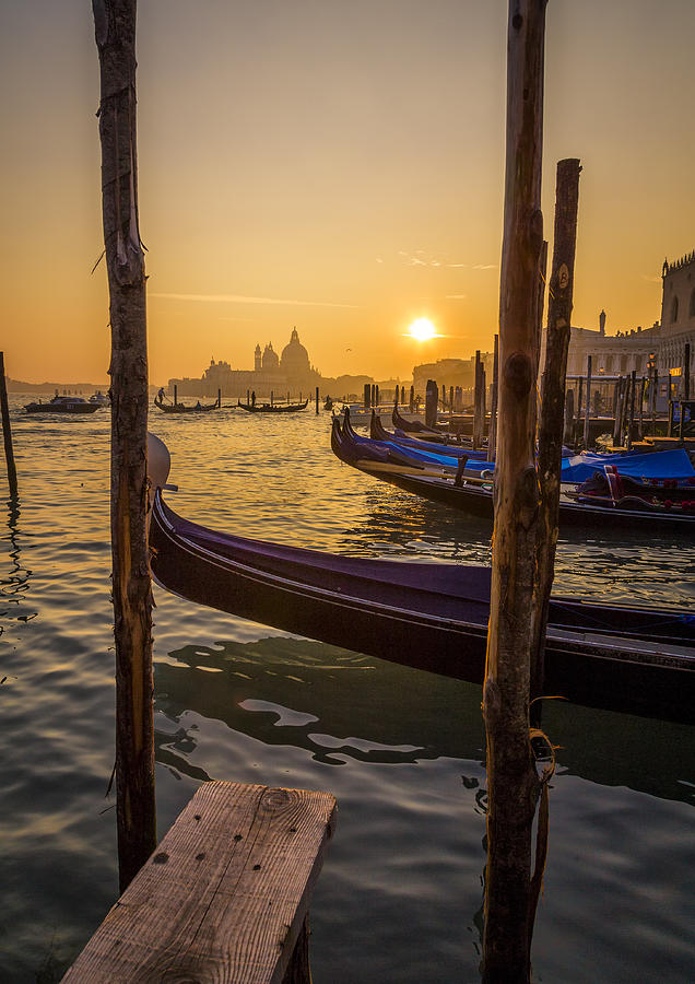 Italy Photograph - Beautiful Sunset In Venice by Francesco Rizzato