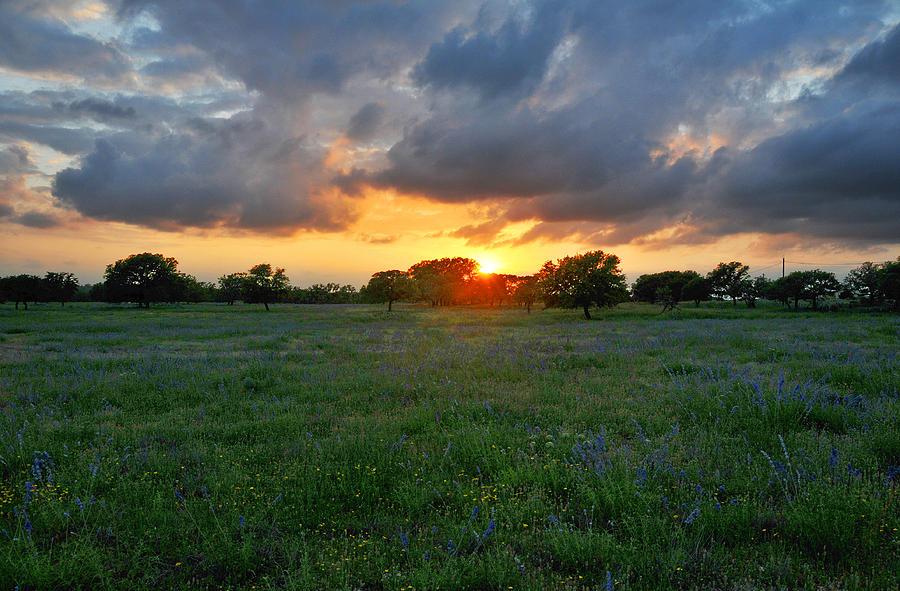 Beautiful Texas Skies Photograph By Lynn Bauer