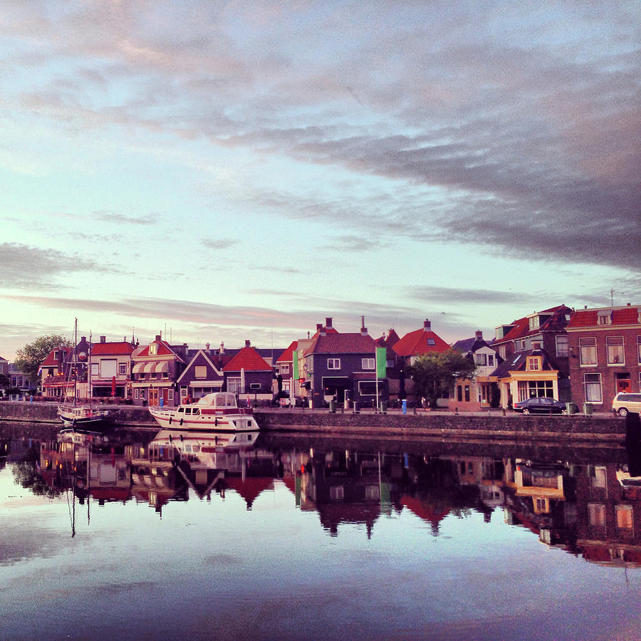 Beautiful View Of Lemmer,netherlands Photograph by Yulia Reznikov