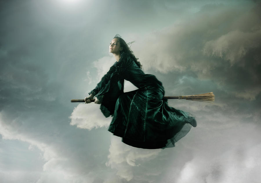 Beautiful Witch Photograph by Colin Anderson