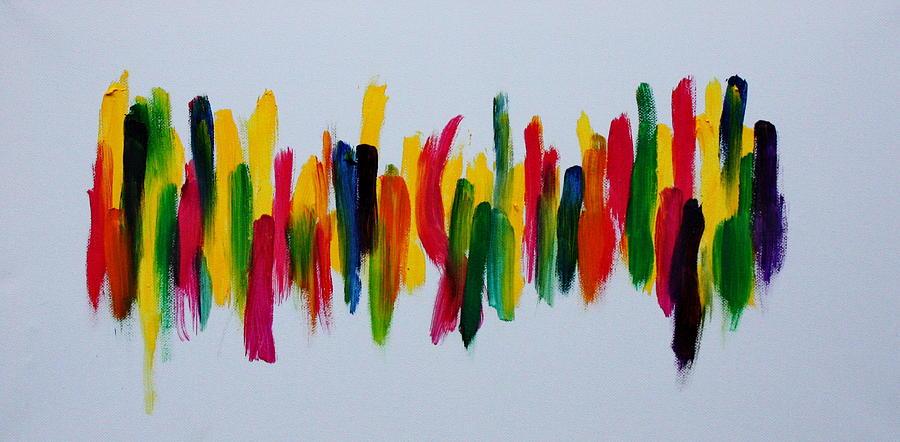 Bright Painting - Beautifully Wrong by Tom Atkins