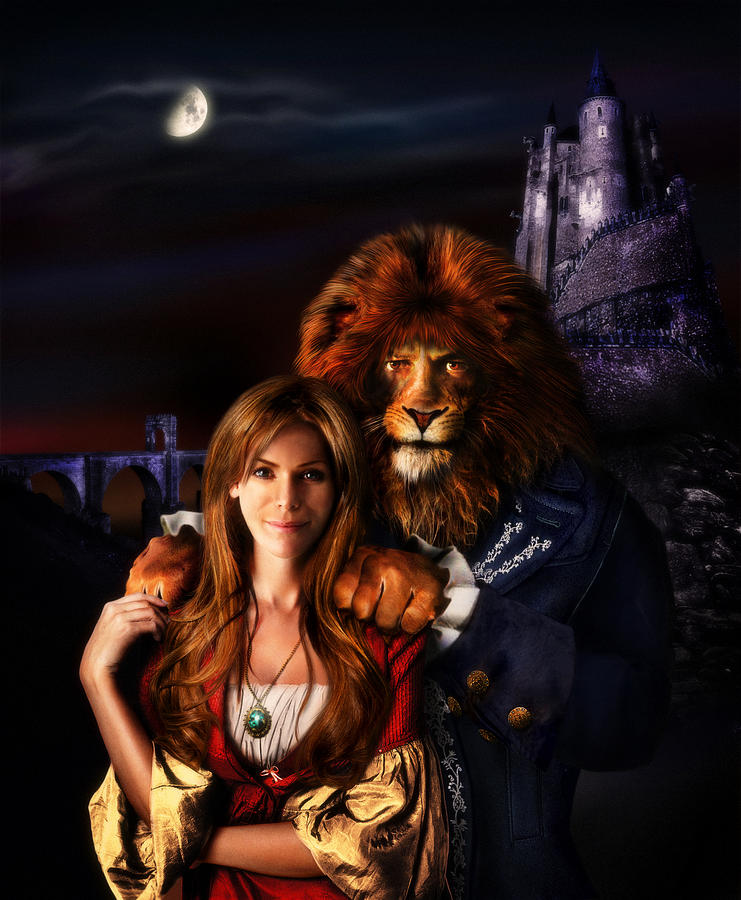 Beauty And The Beast Digital Art