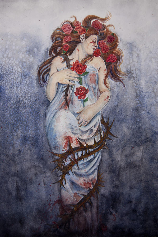 Beauty from Pain Painting by Sarah Job