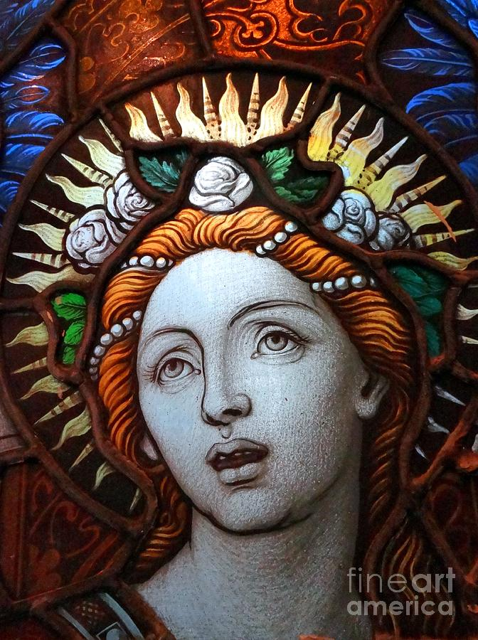 Stained Glass Photograph - Beauty In Glass by Ed Weidman
