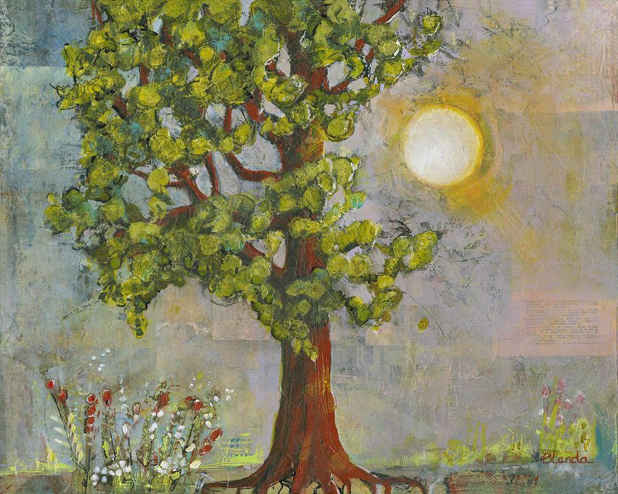Nature Painting - Morning Has Broken by Blenda Studio