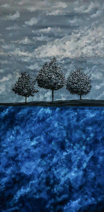 Surrealistic Painting - Beauty In The Breakdown by Joel Tesch