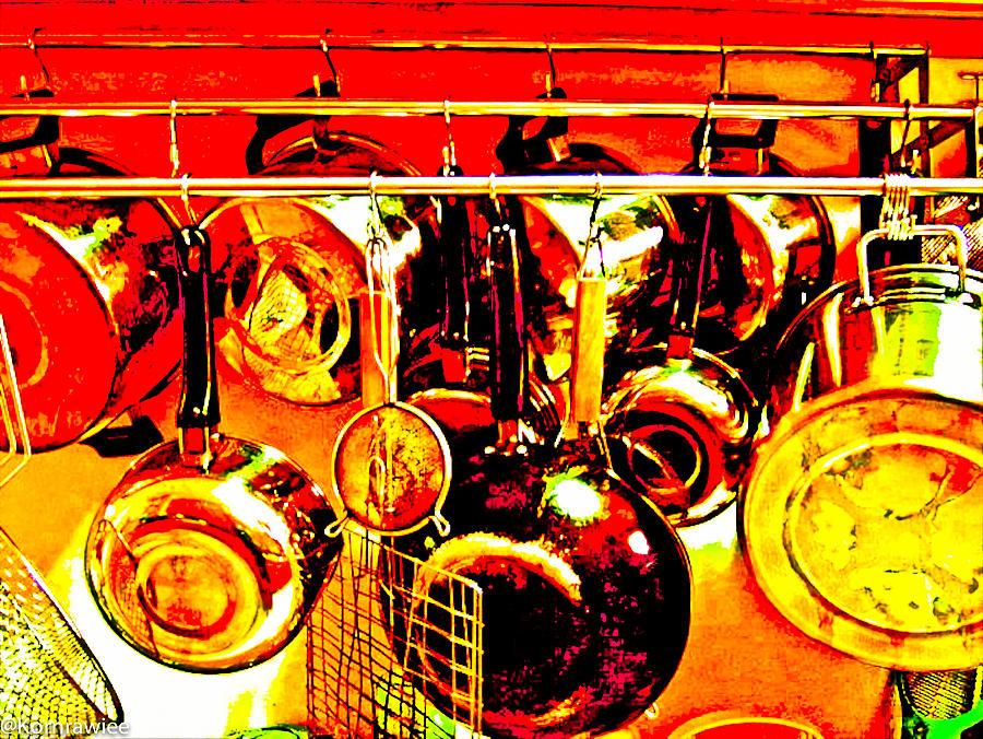 Still Life Photograph - Beauty In The Kitchen by Kornrawiee Miu Miu