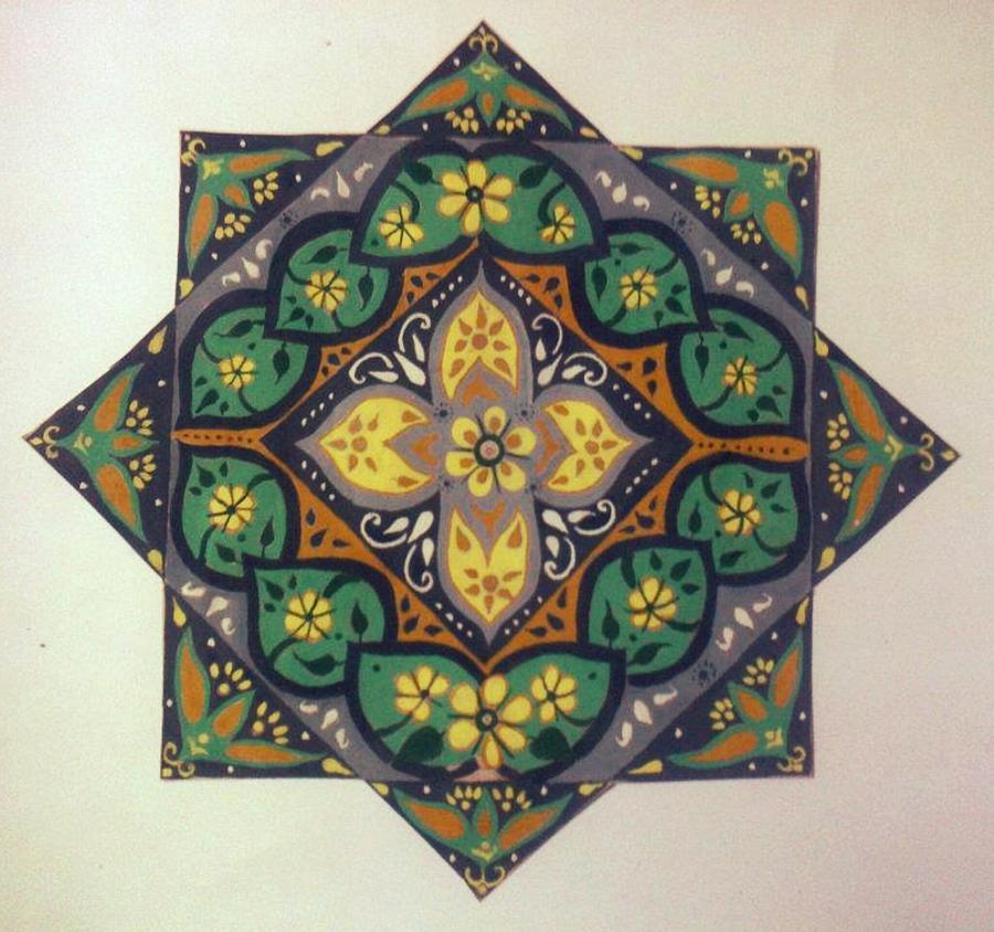 Design Painting - Beauty by Karunita Kapoor